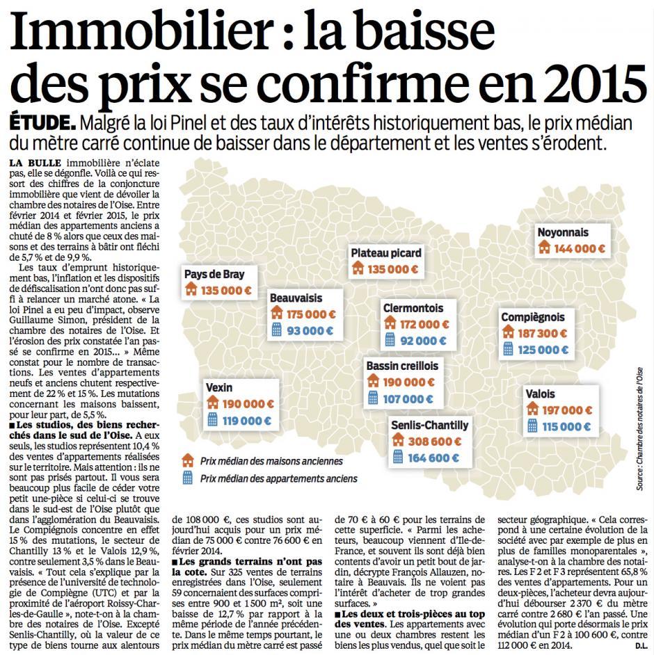 20150618-LeP-Oise-Immobilier : la baisse des prix se confirme en 2015