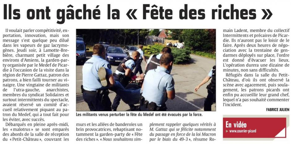 20150620-CP-Lamotte-Brebière- Ils ont gâché la « Fête des riches »