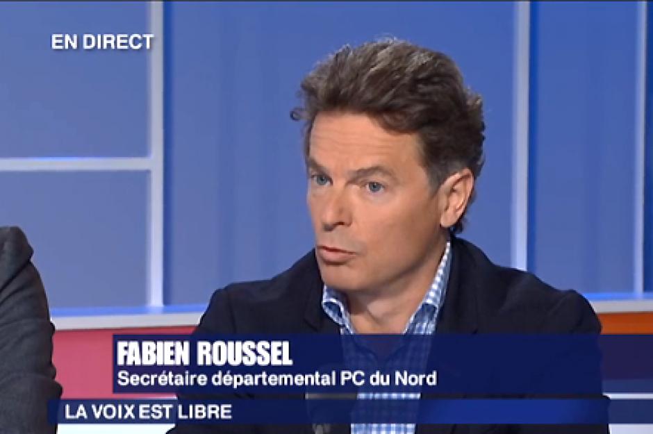 France 3 Nord-Pas-de-Calais-La voix est libre-Spéciale réforme territoriale avec Fabien Roussel