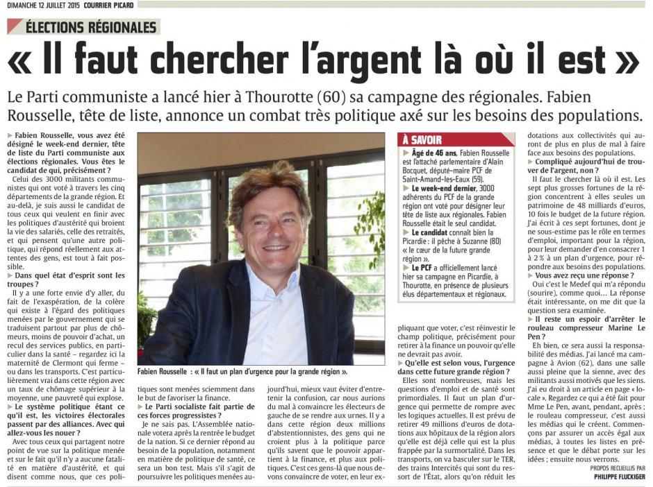 20150712-CP-NPdCP-R2015-Fabien Roussel (PCF-FdG) « Il faut chercher l'argent là où il est »