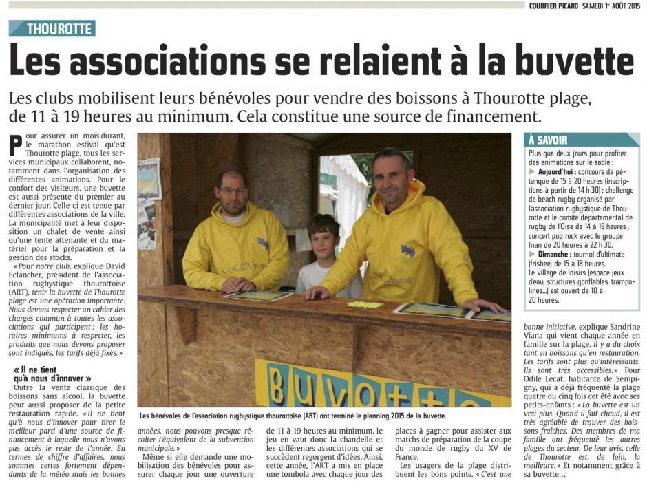 20150801-CP-Thourotte-Les associations se relaient à la buvette [Thourotte plage]