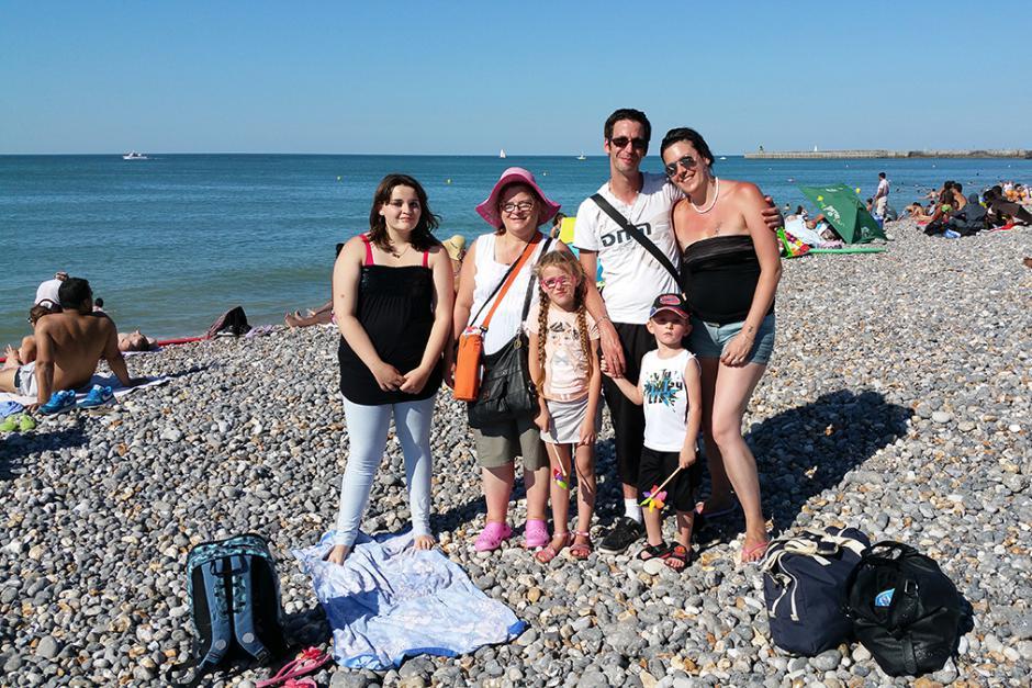 Soleil et bonheur pour la 21e Journée à la mer du PCF Oise - Dieppe, 22 août 2015