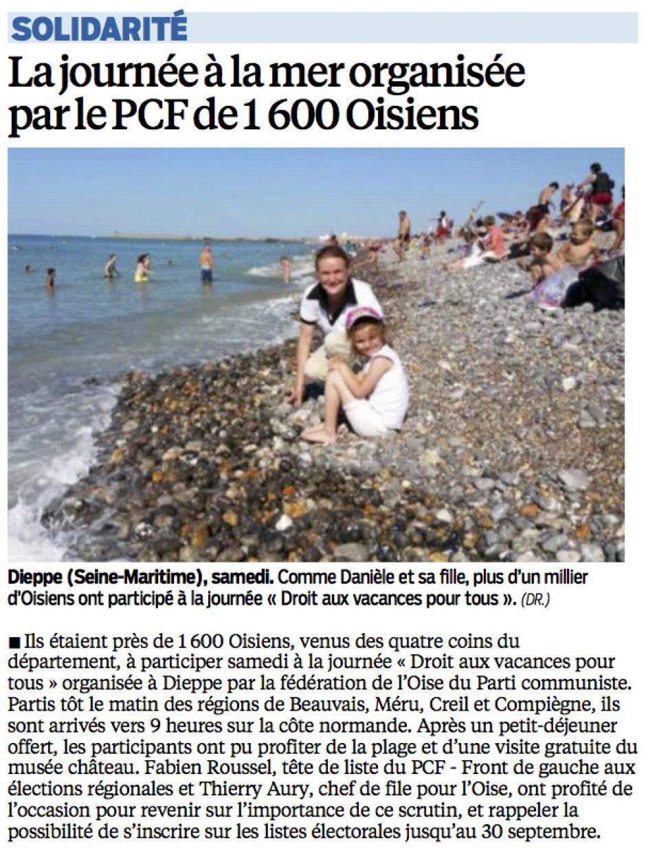 20150824-LeP-Oise-La journée à la mer organisée par le PCF de 1 600 Oisiens