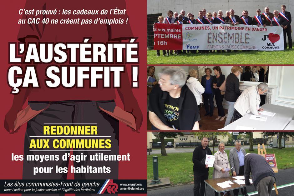 Communes : l'austérité, ça suffit ! - Oise, 19 septembre 2015