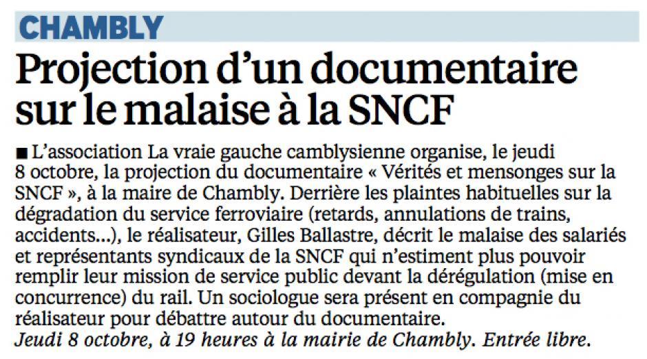 20150930-LeP-Chambly-Projection d'un documentaire sur le malaise à la SNCF