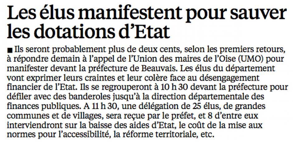 20151008-LeP-Oise-Les élus manifestent pour sauver les dotations d'État