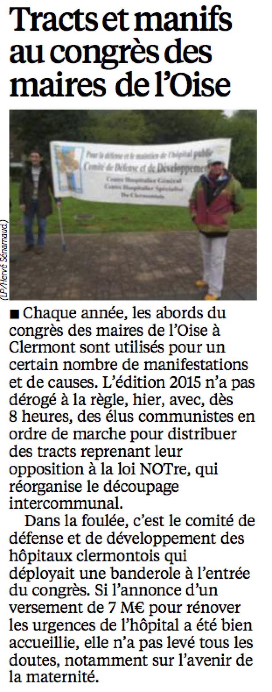 20151018-LeP-Clermont-Tracts et manifs au congrès des maires de l'Oise