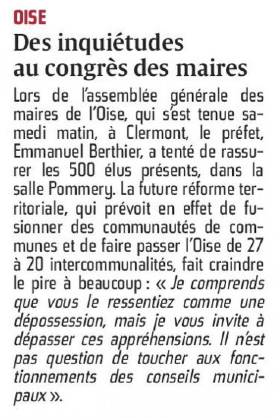 20151019-CP-Oise-Des inquiétudes au congrès des maires [pages régionales]