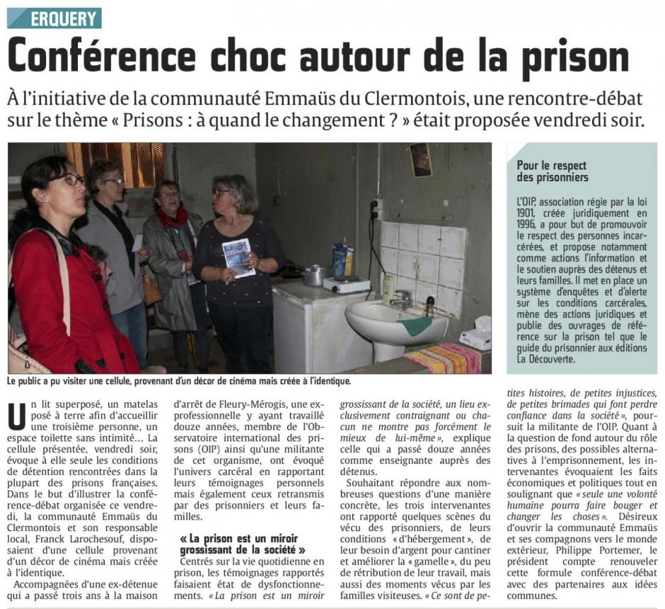 20151108-CP-Erquery-Conférence choc autour de la prison