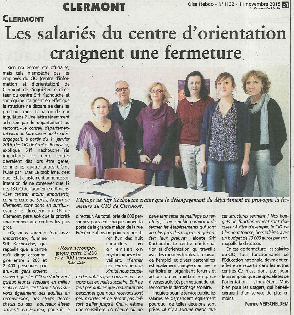20151111-OH-Clermont-Les salariés du centre d'orientation craignent une fermeture