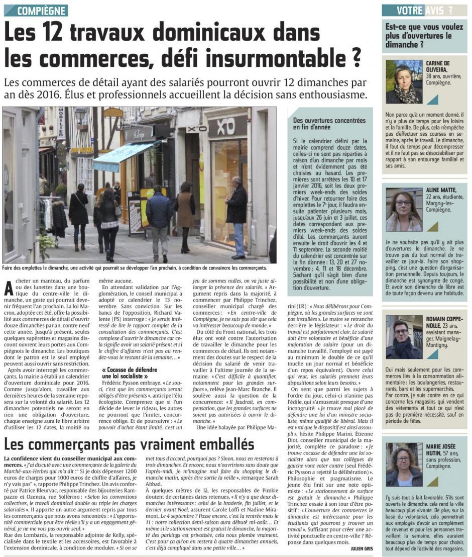 20151116-CP-Compiègne-Les 12 travaux dominicaux dans les commerces, défi insurmontable ?