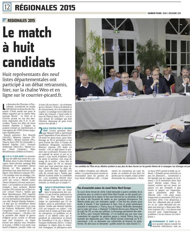 20151203-CP-NPdCP-R2015-Oise-Le match à huit candidats [débat Wéo TV]