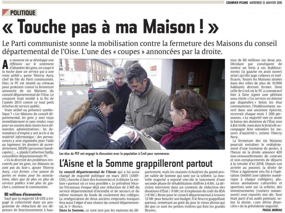 20160113-CP-Oise-« Touche pas à ma Maison ! » [pages régionales]