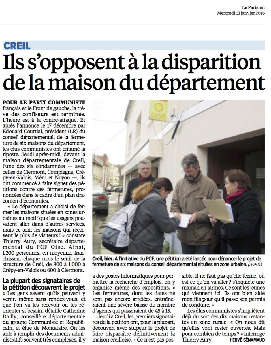 20160113-LeP-Creil-Ils s'opposent à la disparition de la maison du Département