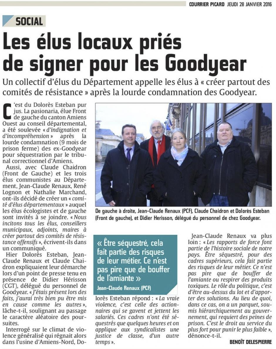 20160128-CP-Somme-Les élus locaux priés de signer pour les Goodyear [édition Amiens]