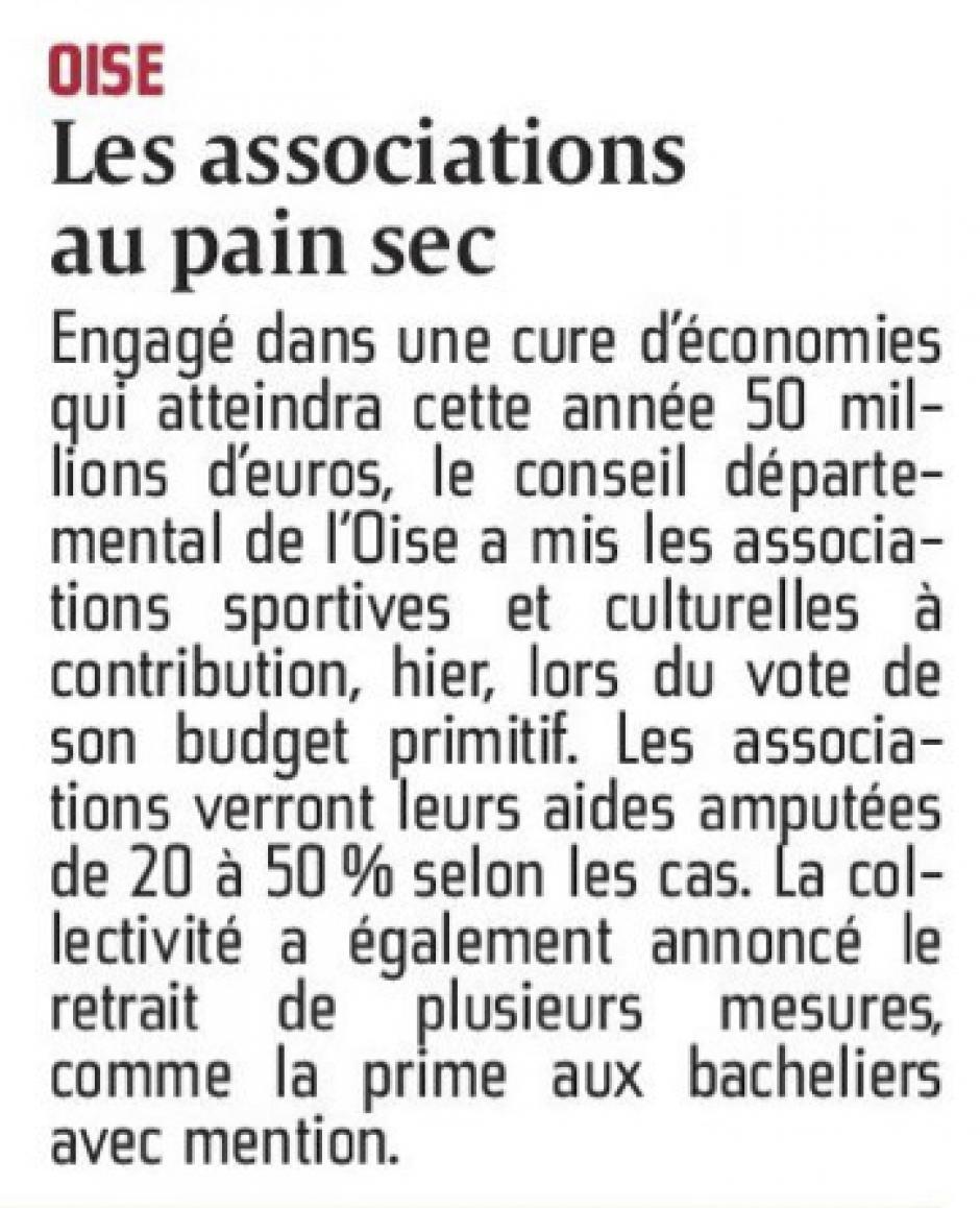20160129-CP-Oise-Les associations au pain sec [pages régionales]