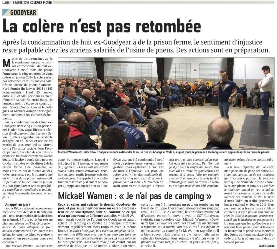 20160201-CP-Amiens-Goodyear : la colère n'est pas retombée [édition Amiens]