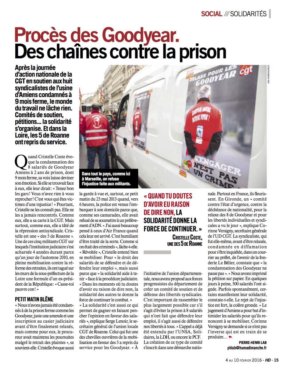 20160204-HD-France-Procès des Goodyear. Des chaînes contre la prison