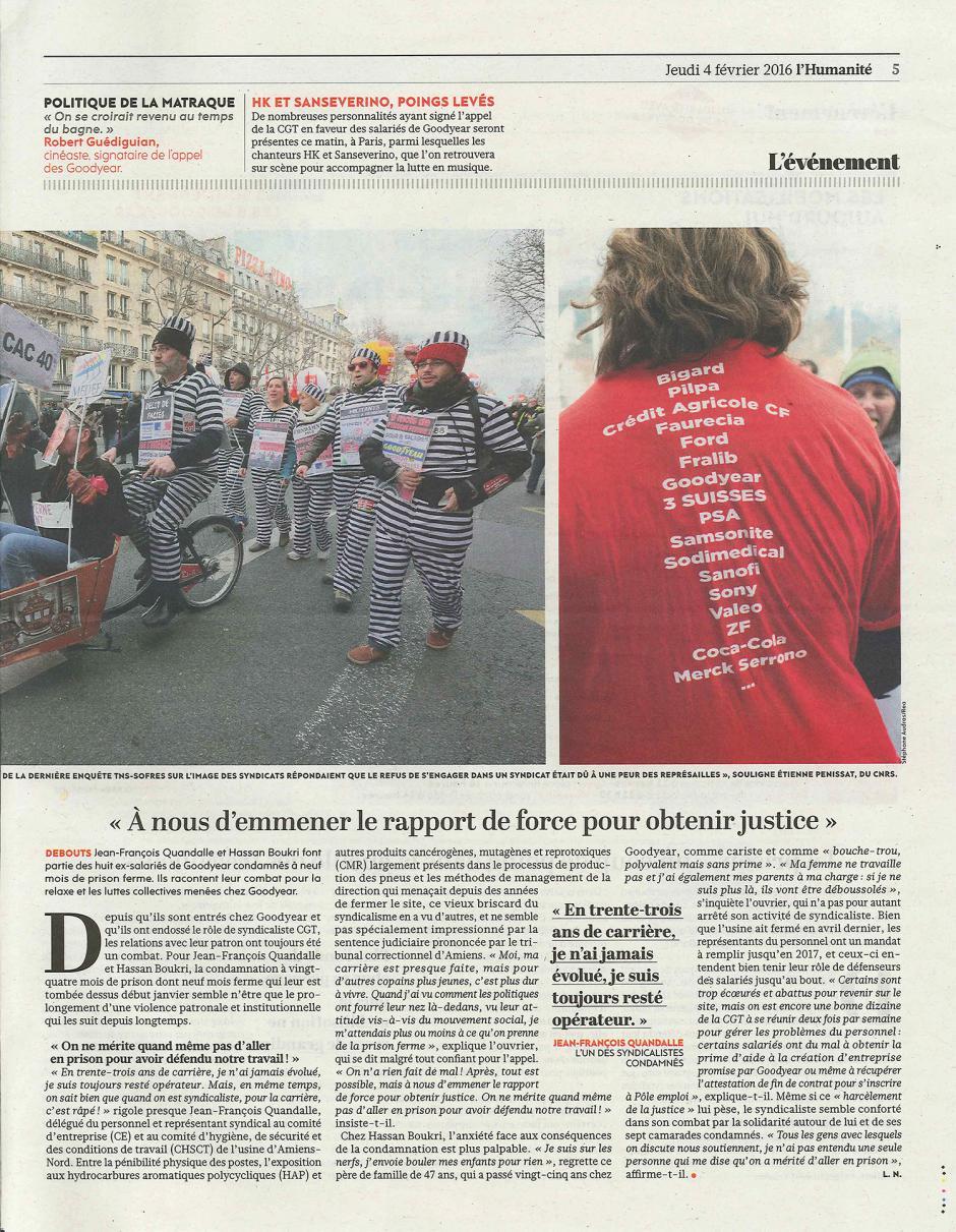 20160204-L'Huma-France-« À nous d'emmener le rapport de force pour obtenir justice »