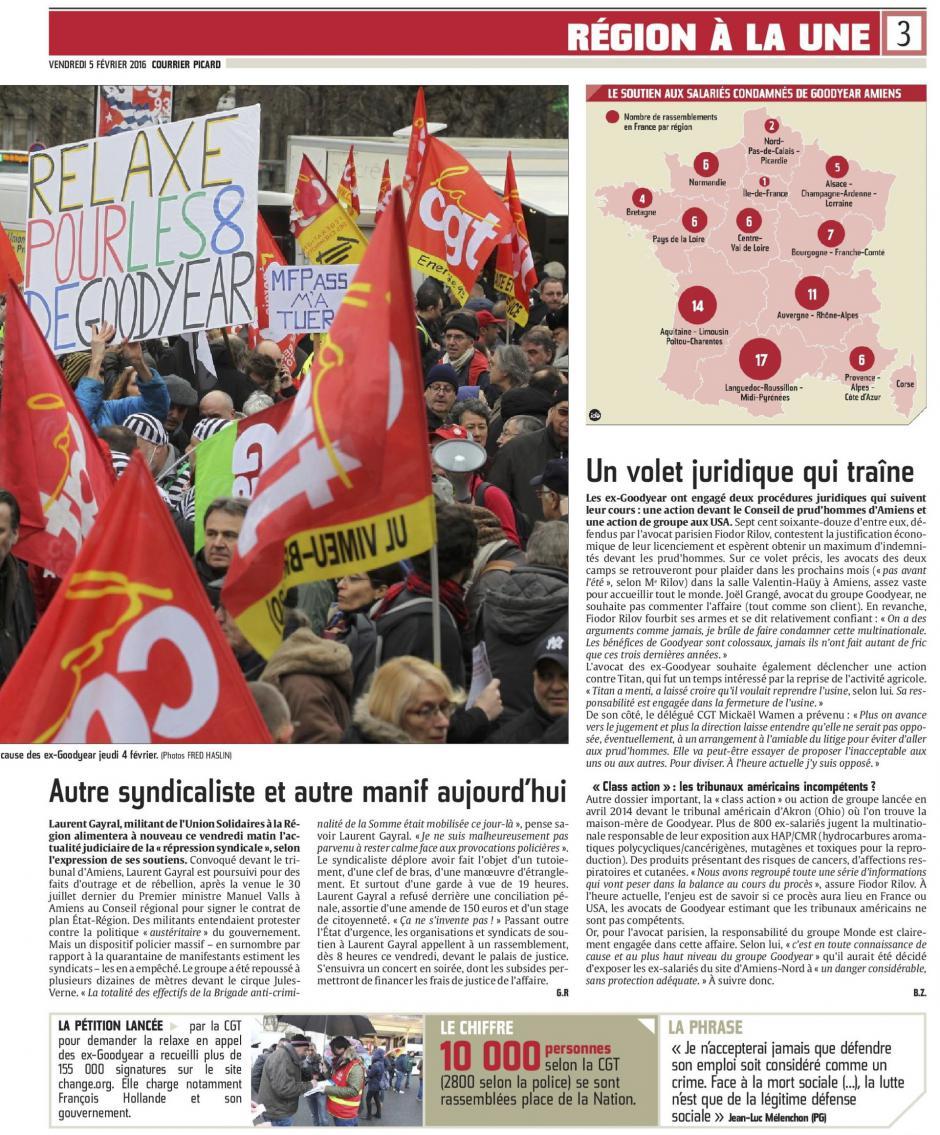 20160205-CP-Picardie-« Rouge de colère », la CGT se mobilise contre la « justice de classe »