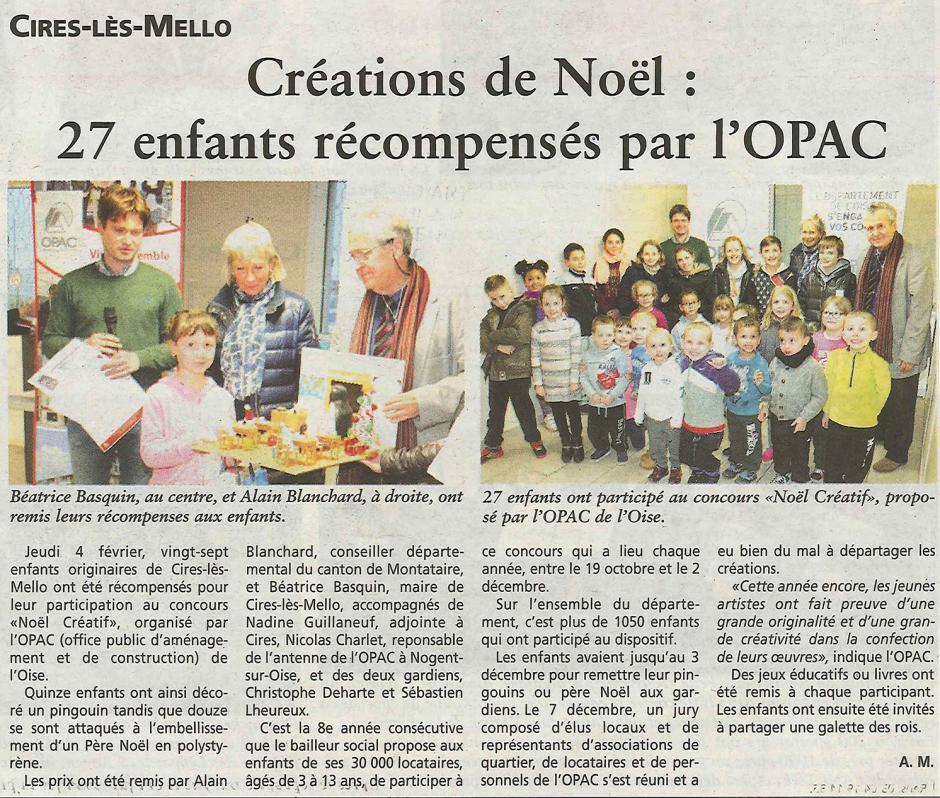 20160217-OH-Cires-lès-Mello-Créations de Noël : 27 enfants récompensés par l'OPAC