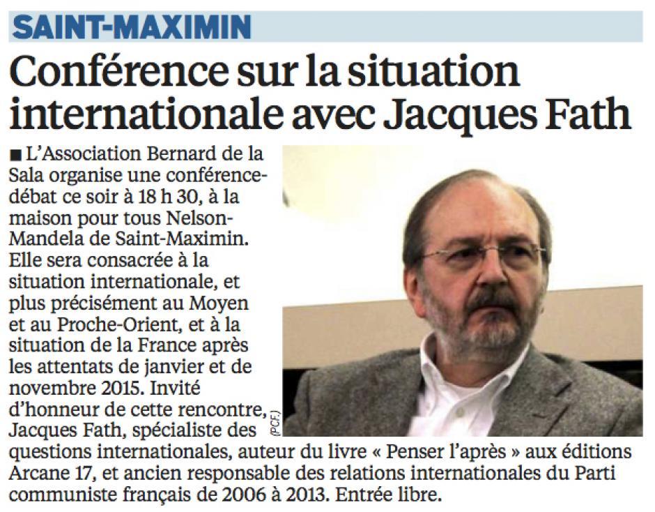 20160226-LeP-Saint-Maximin-Conférence sur la situation internationale avec Jacques Fath [Espace Marx60]