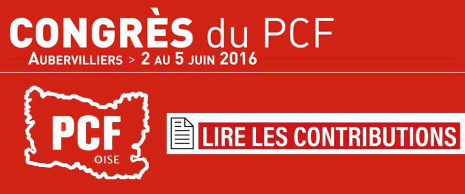 37e Congrès - Lire les contributions des communistes de l'Oise