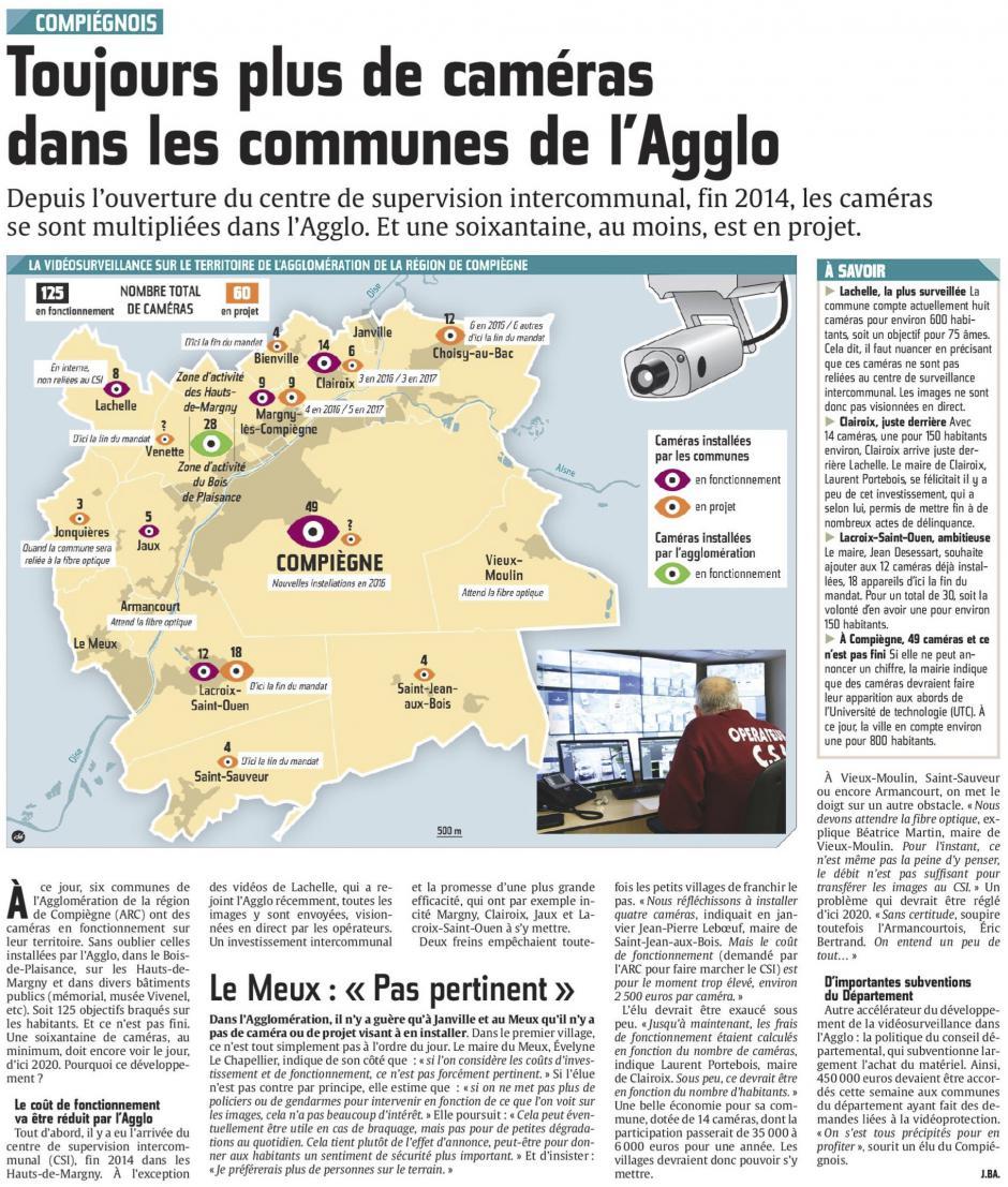 20160310-CP-Compiégnois-Toujours plus de caméras dans les communes de l'Agglo