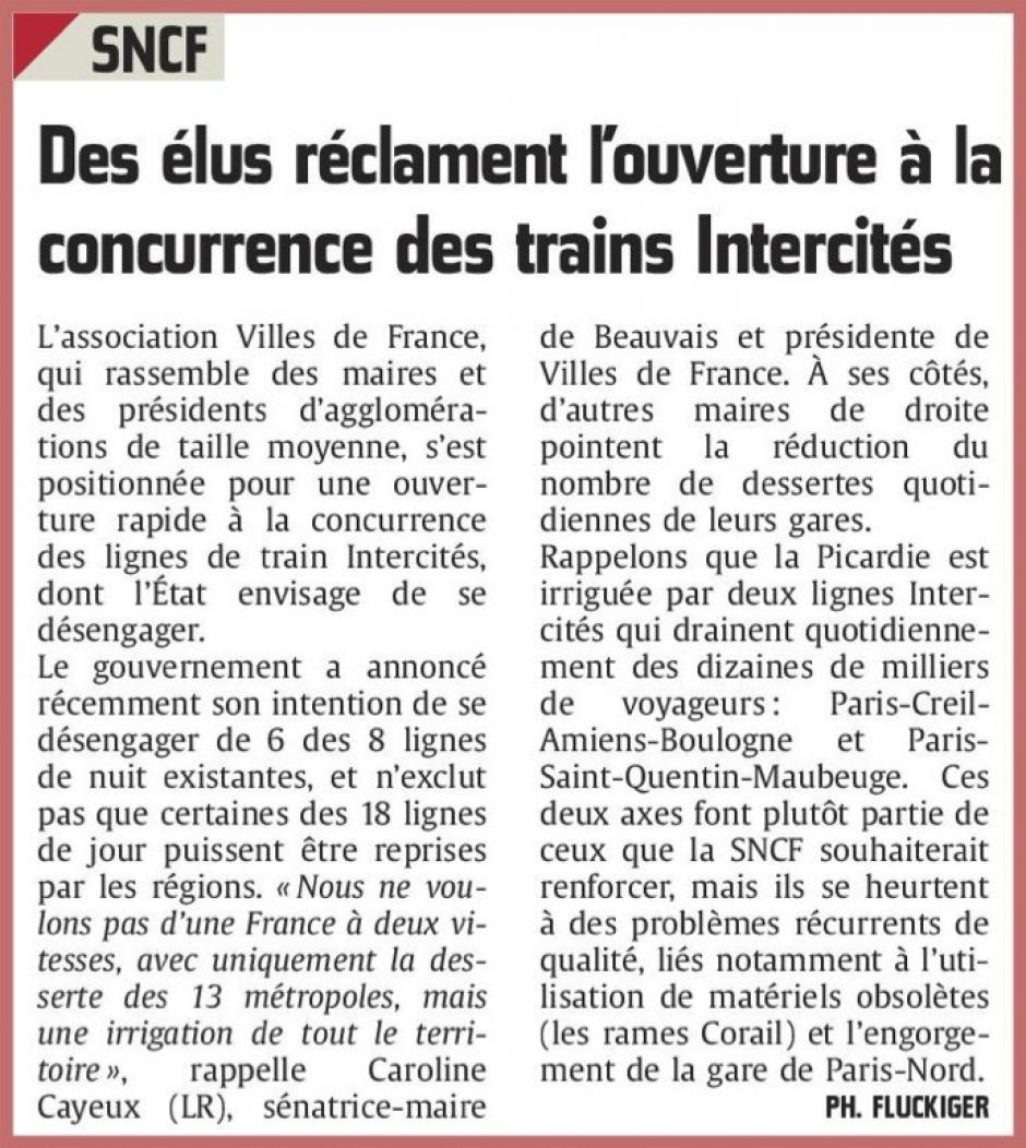 20160314-CP-Picardie-Des élus réclament l'ouverture à la concurrence des trains Intercités