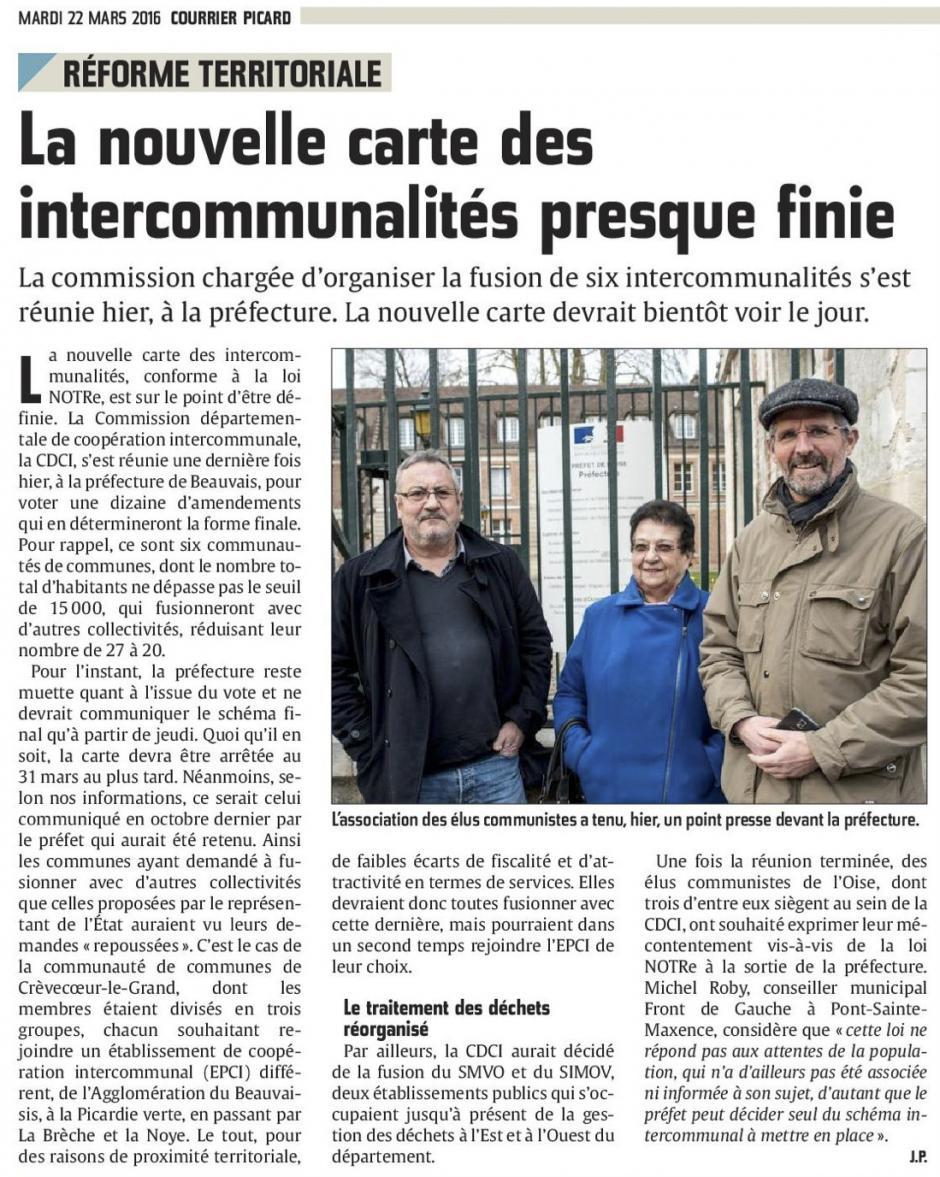 20160322-CP-Oise-La nouvelle carte des intercommunalités presque finie