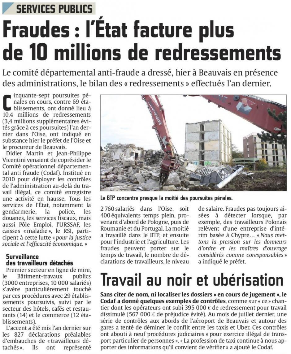 20160326-CP-Oise-Fraudes : l'État facture plus de 10 millions de redressements