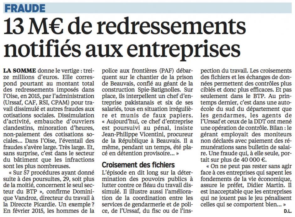 20160326-LeP-Oise-13 M€ de redressements notifiés aux entreprises