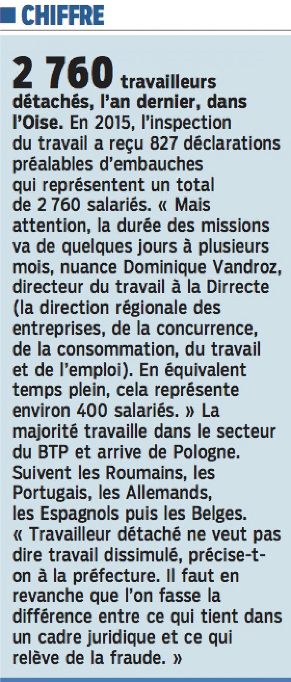20160328-LeP-Oise-2 760 travailleurs détachés, en 2015, dans le département