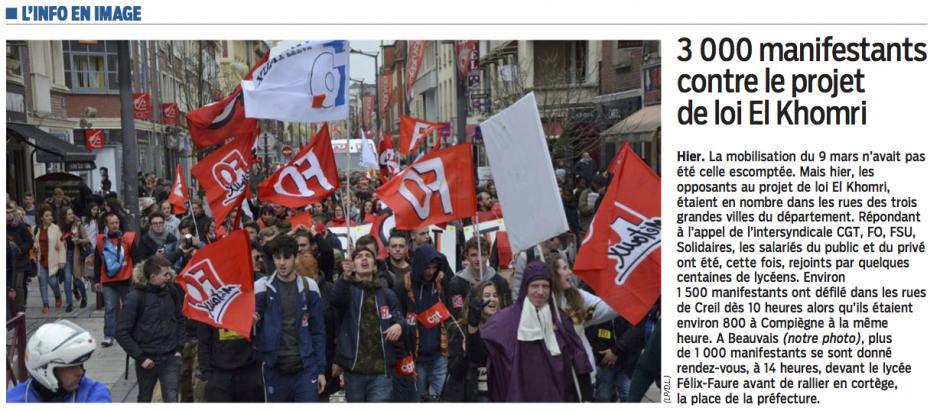 20160401-LeP-Oise-3 000 manifestants contre le projet de loi El Khomri