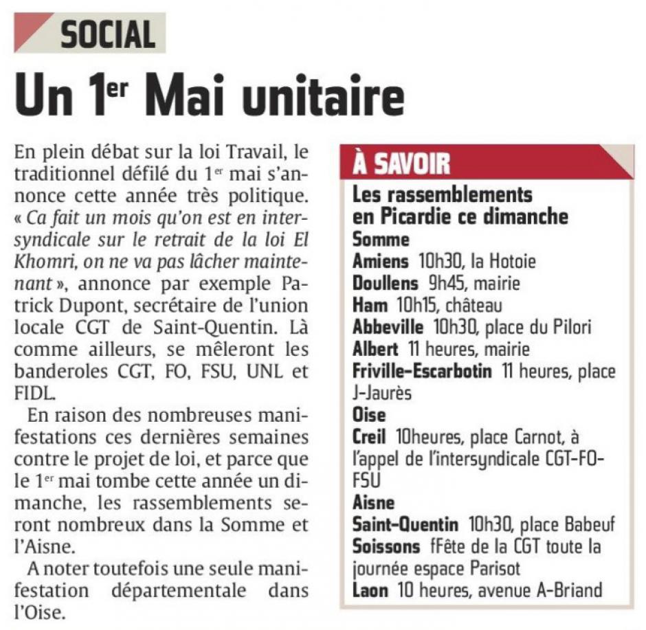 20160430-CP-Picardie-Un 1er mai unitaire