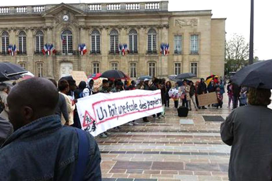 Solidarité avec les jeunes migrants en détresse - Beauvais, 11 mai 2016