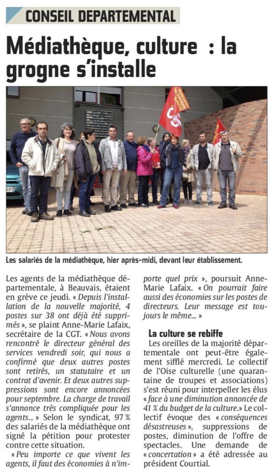 20160520-CP-Oise-Médiathèque, culture : la grogne s'installe