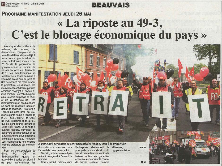 20160525-OH-Beauvais-«La riposte au 49-3, c'est le blocage économique du pays »