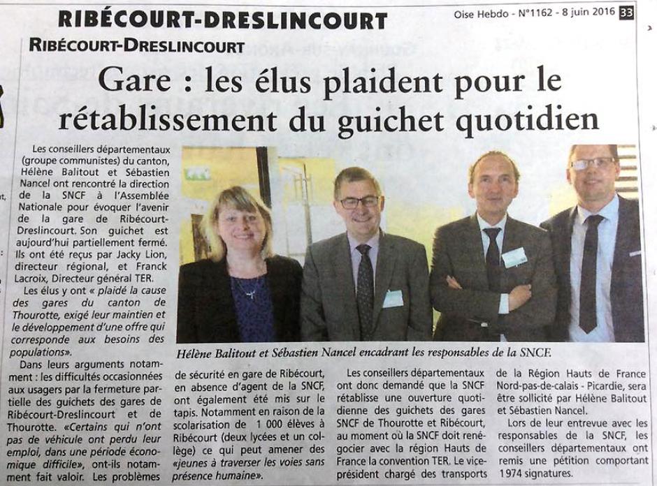 20160608-OH-Ribécourt-Dreslincourt-Gare : les élus plaident pour le rétablissement du guichet quotidien