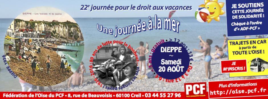 20 août, Dieppe - 22e Journée à la mer