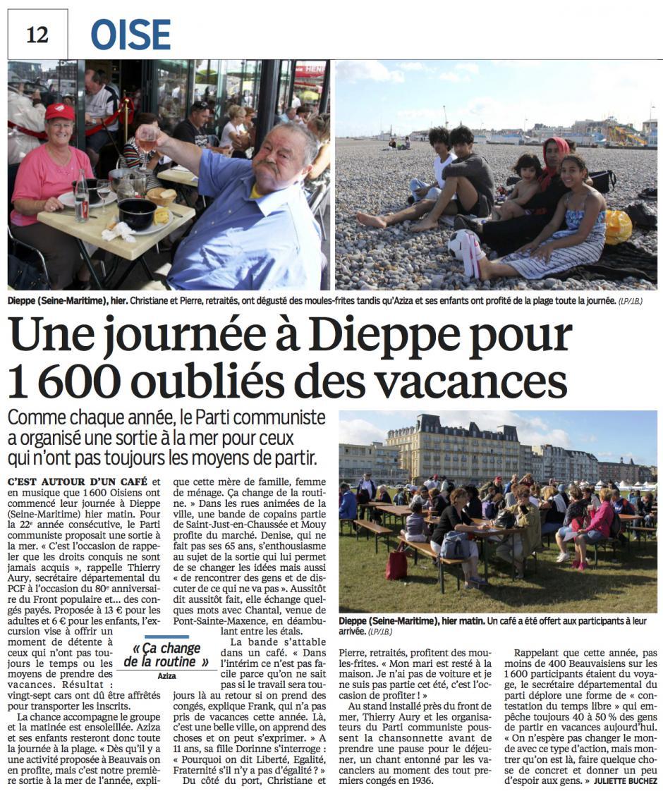 20160821-LeP-Oise-Une journée à Dieppe pour 1 600 oubliés des vacances