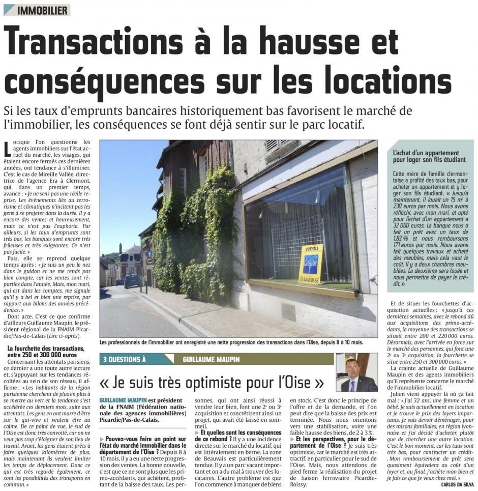 20160825-CP-Oise-Immobilier : transactions à la hausse et conséquences sur les locations