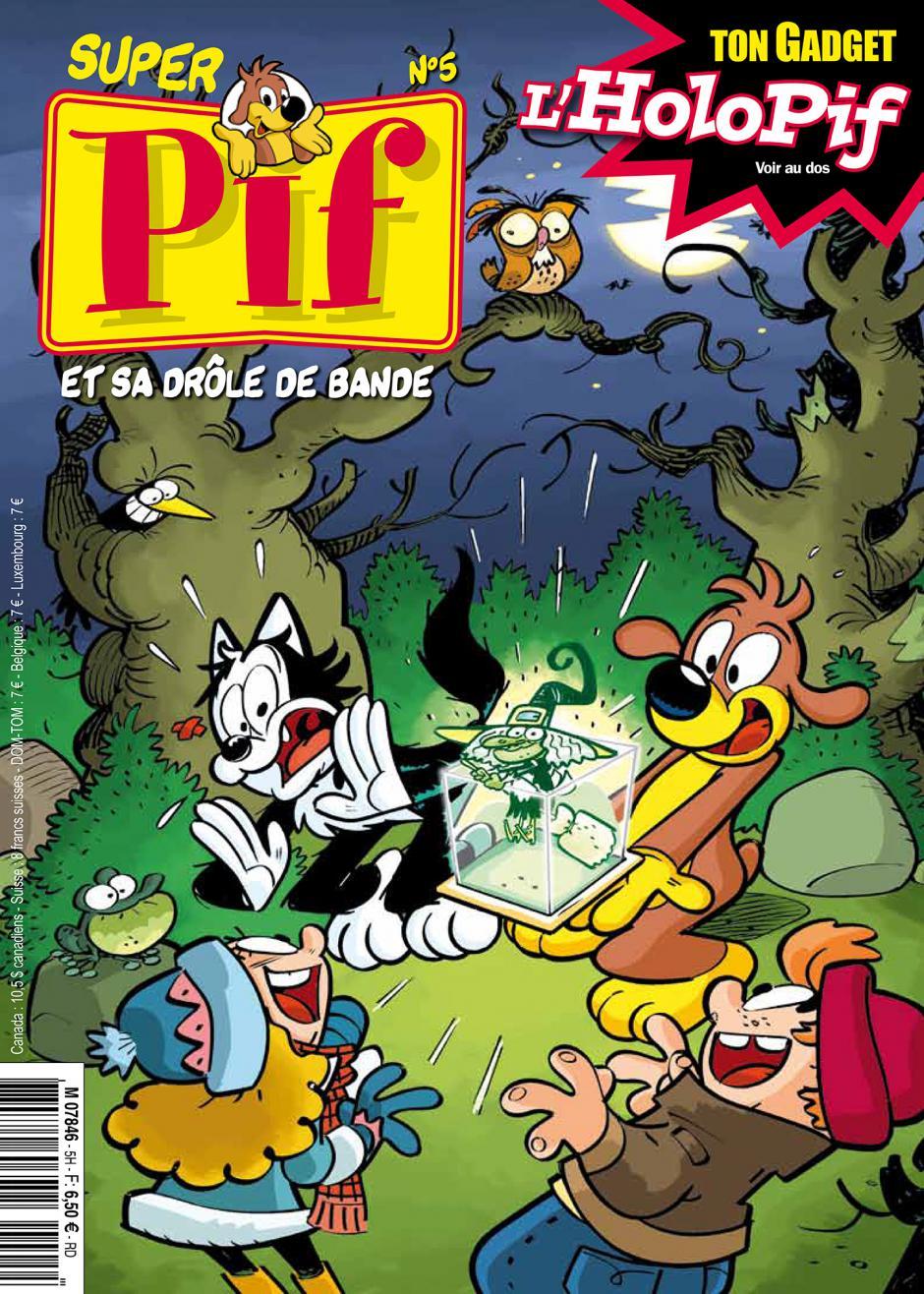 Super Pif n° 5, sa drôle de bande et son gadget ! - 6,50 €