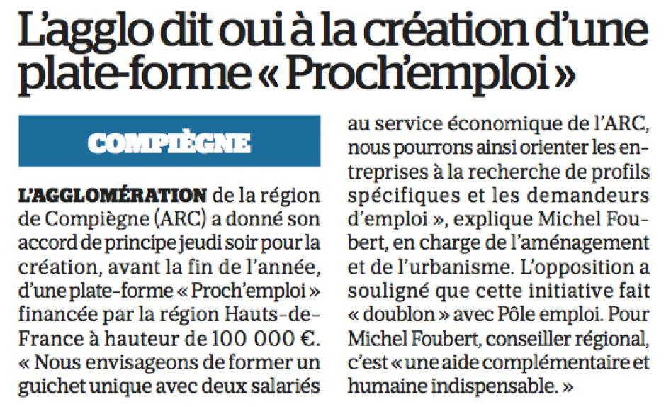 20161008-LeP-Compiègne-L'agglo dit oui à la création d'une plate-forme « Proch'emploi »