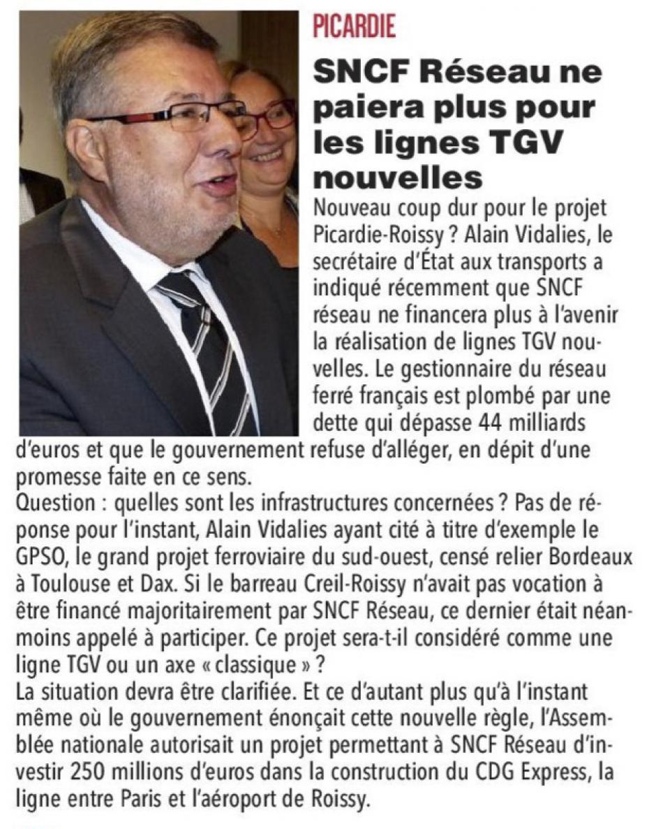 20161010-CP-Picardie-SNCF Réseau ne paiera plus pour les lignes TGV nouvelles