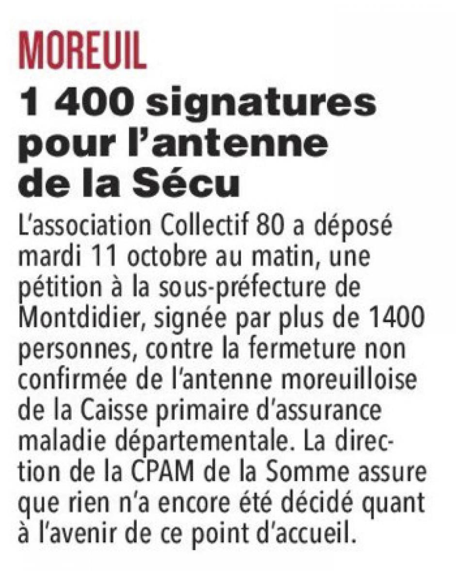 20161012-CP-Moreuil-1 400 signatures pour l'antenne de la Sécu [pages régionales]