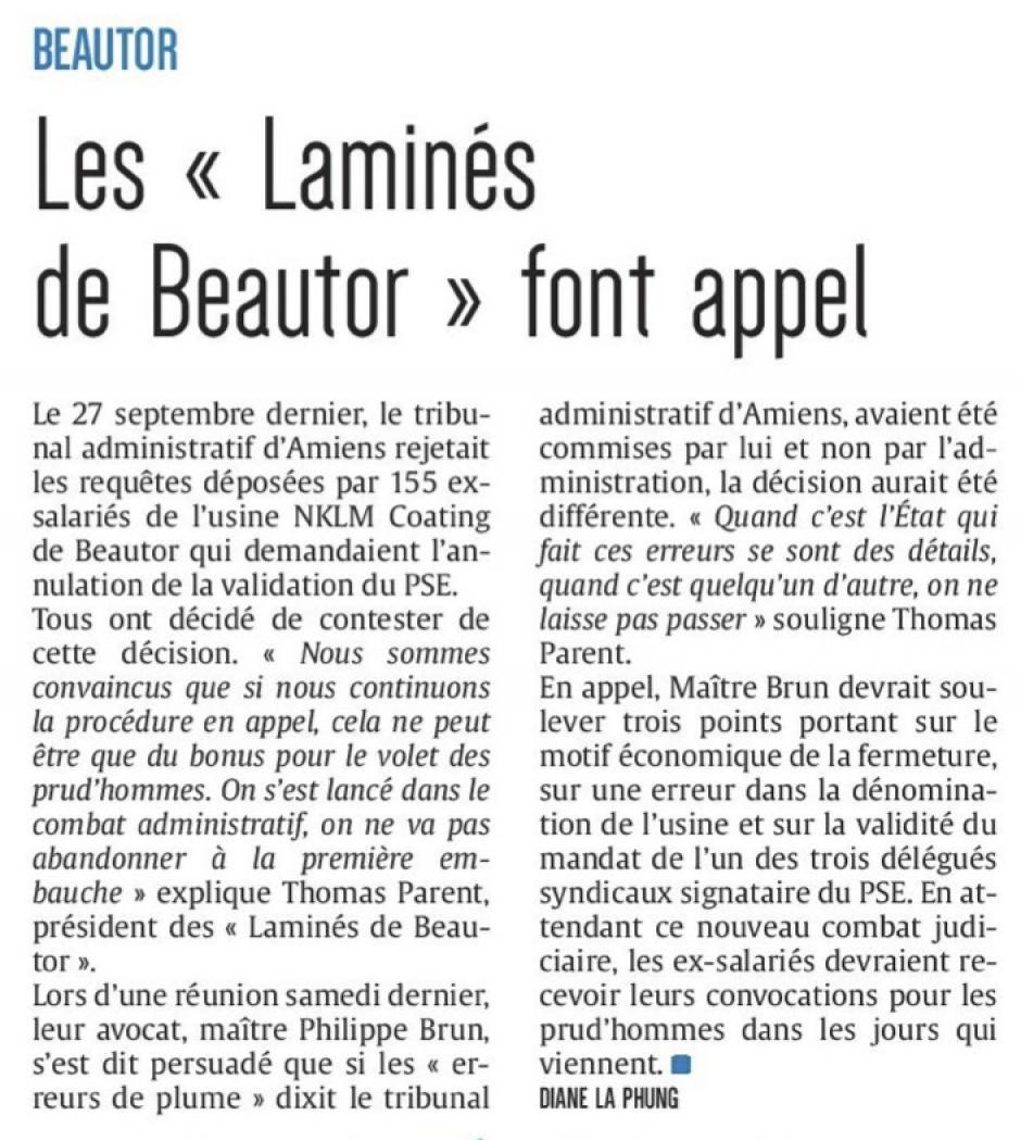 20161019-CP-Beautor-Les « Laminés de Beautor » font appel [édition Aisne]