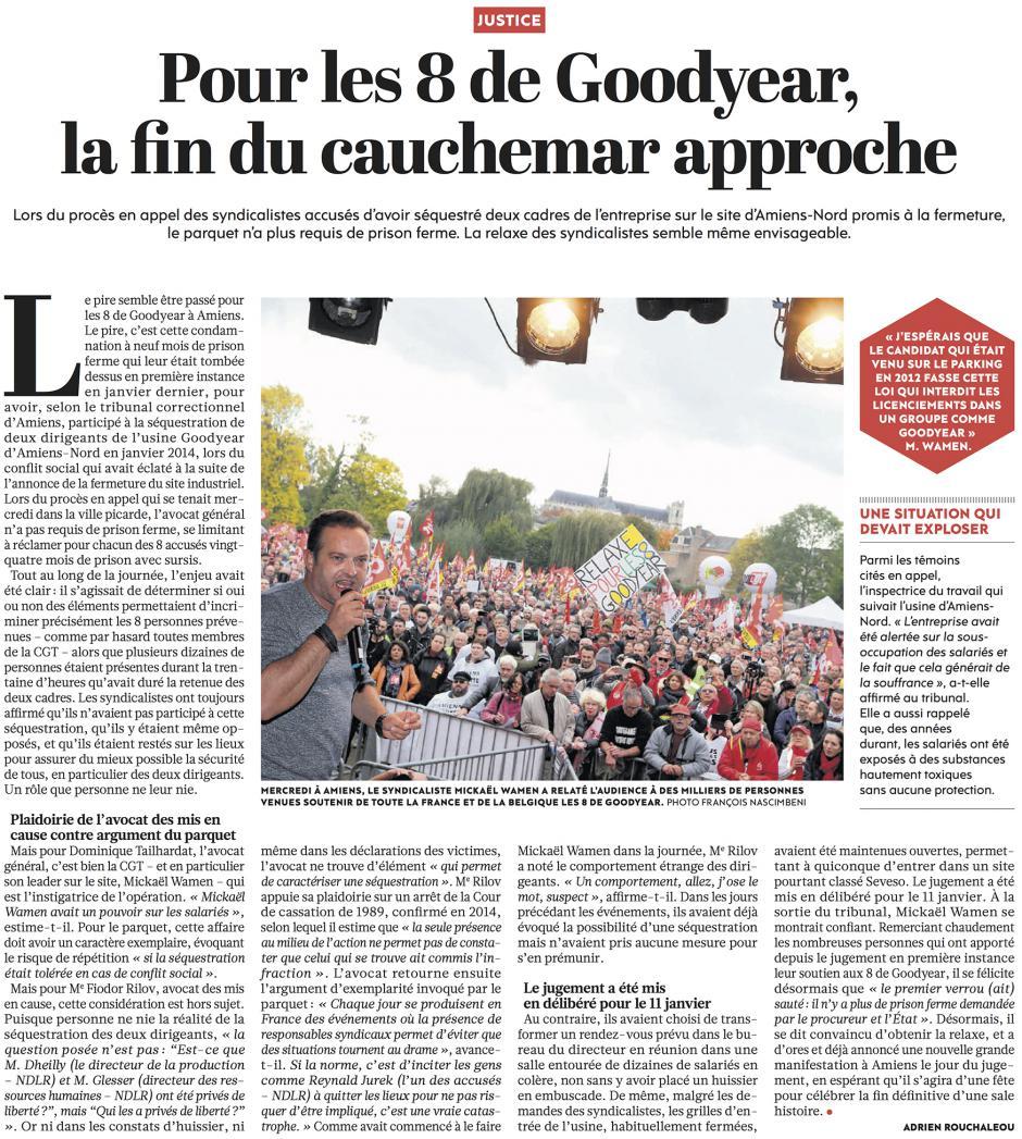 20161021-L'Huma-Amiens-Pour les 8 de Goodyear, la fin du cauchemar approche
