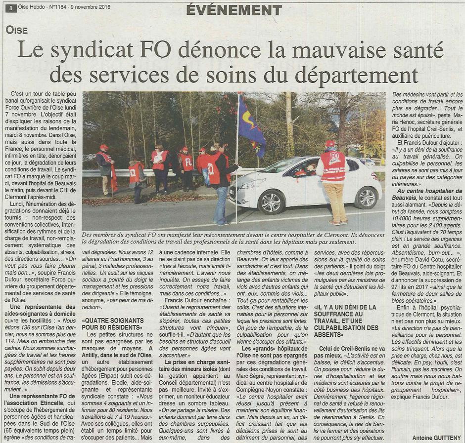 20161109-OH-Oise-Le syndicat FO dénonce la mauvais santé des services de soins du département