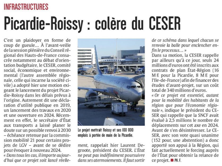 20161123-CP-Picardie-Roissy : colère du CESER